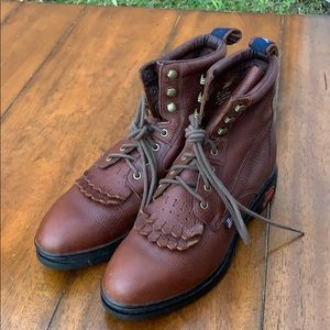 Justin Men's Boots Size 8